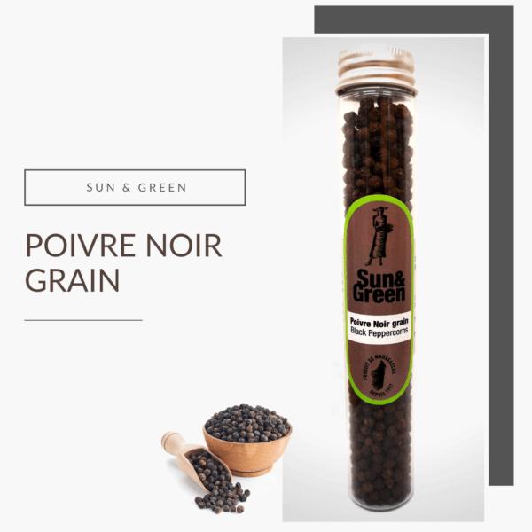 poivre noir en grain