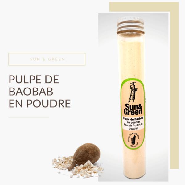 épice Pulpe de baobab en poudre