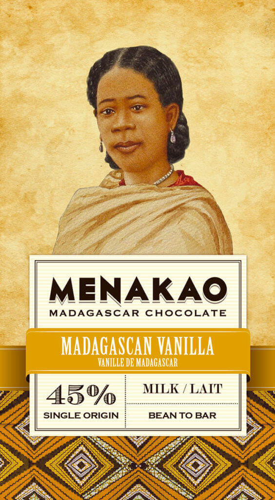 tablette de chocolat au lait 45% cacao menako