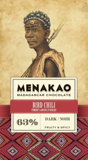 tablette de chocolat noir 63% menako
