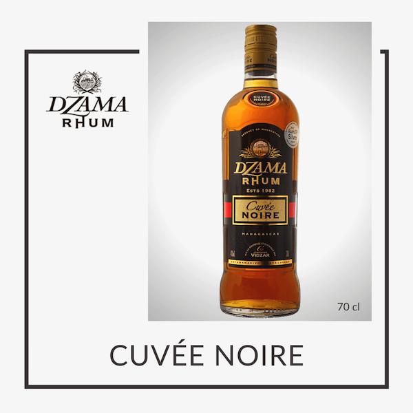 Rhum ambré Dzama cuvée noire