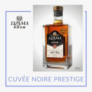 Rhum Dzama cuvée noire prestige