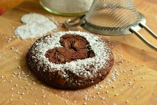 Brownie au chocolat au lait arabica et fleur de sel marin