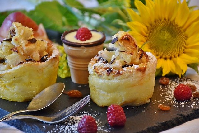 Muffins pomme cannelle gingembre