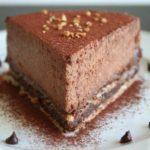 Recette du bavarois au chocolat noir