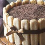 Recette de la Charlotte au chocolat au lait vanillé
