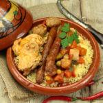 Recette du couscous poulet merguez