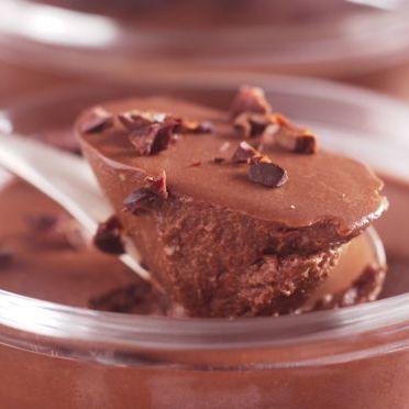 Crème au chocolat noir et piment Langue d'Oiseau