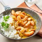Recette des crevettes au curry