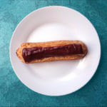 Recette Éclair au chocolat noir et piment Langue d'Oiseau