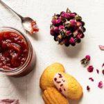Recette des madeleines à la confiture de rose