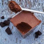 Recette de la mousse au chocolat au lait vanillé