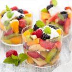 Recette de la salade de fruits épicées exotique