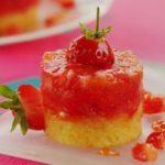 Recette du tartare aux fraises et à la confiture de patate douce épicée